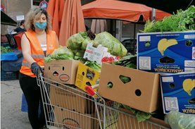 The Social Giving of the Farmers' Markets during the pandemic