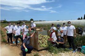 300 κιλά πράσα σώθηκαν χάρη στην εθελοντική ομάδα της MSD