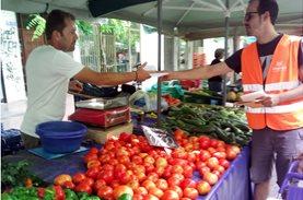 Εκφράζοντας τις ευχαριστίες μας στις Λαϊκές Αγορές