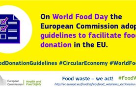 Κατευθυντήριες γραμμές της Ευρωπαϊκής Ένωσης σχετικά με τη δωρεά τροφίμων