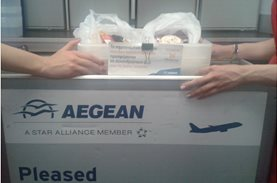 AEGEAN: saving food 30.000 feet above the Earth