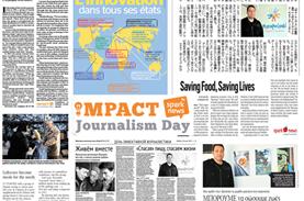 Το ΜΠΟΡΟΥΜΕ παρουσιάζεται σε 10 χώρες στα πλαίσια του Impact Journalism Day