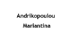 Andrikopoulou Mariantina